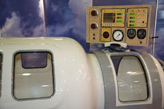 The medical equipment, pressure chamber. Royalty Free Stock Photo
