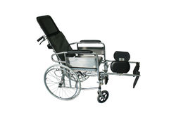 Medical Equipment. Wheelchairs for patients and the disabled, medical equipment. White background Royalty Free Stock Photos