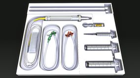 Medical Equipments Stock Photography