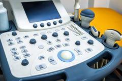 Medical equipments for ultrasonic diagnostics Royalty Free Stock Photo