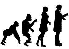 Medical Evolution Doctor Royalty Free Stock Image