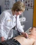 Medical exam Royalty Free Stock Photo