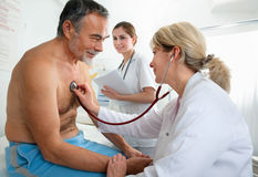 Medical exam Royalty Free Stock Images
