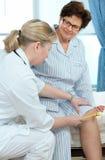 Medical exam Royalty Free Stock Photography