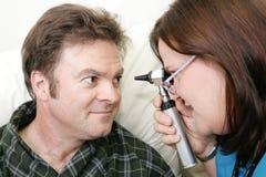 Medical Exam - Eyes Royalty Free Stock Image