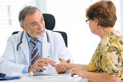 Medical exam Royalty Free Stock Image