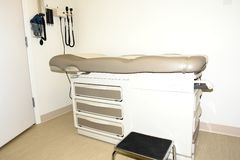 Medical Exam Room. A doctors medical exam room Royalty Free Stock Images