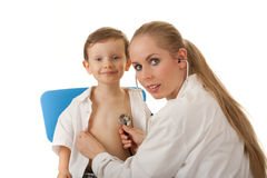 Medical examination Stock Photos