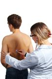 Medical Examination. Royalty Free Stock Images
