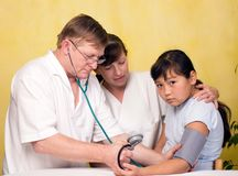 Medical examination. Royalty Free Stock Photo