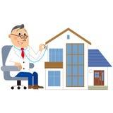 Medical examination of the house Stock Photos