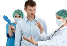 Medical examination. Prostatitis prophylaxis. Men health. Stock Photo