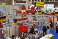 Medical exhibition Public Health 2011 in Kiev Royalty Free Stock Photography