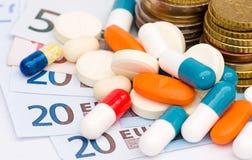 Medical expense Royalty Free Stock Image