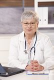 Medical expert at work Stock Photography