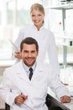 Medical experts. Royalty Free Stock Images