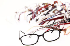Medical eyeglasses Royalty Free Stock Images