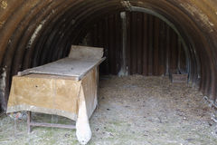 Medical facilities inside the trenches