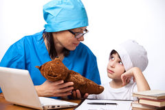Medical family Stock Photo