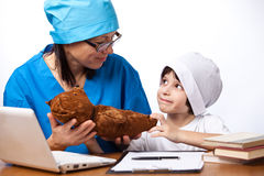 Medical family Royalty Free Stock Images