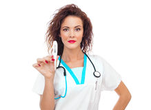 Medical female doctor Royalty Free Stock Image