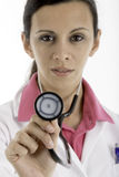 Medical: Female Doctor Stock Photo