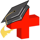 Medical field graduate Stock Photography