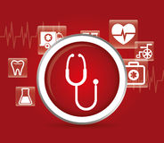 Medical first aids. Icon vector illustration graphic design Royalty Free Stock Images