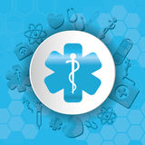 Medical first aids. Icon vector illustration graphic design Royalty Free Stock Image