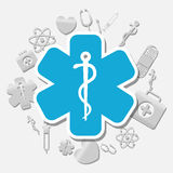 Medical first aids. Icon vector illustration graphic design Stock Photos