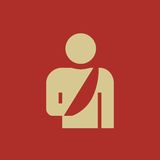 Medical Flat Icon. Vector Pictogram. EPS 10 Royalty Free Stock Photos