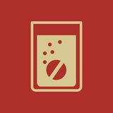 Medical Flat Icon. Vector Pictogram. EPS 10 Royalty Free Stock Photo