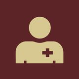 Medical Flat Icon Royalty Free Stock Photography