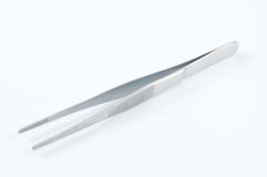 Medical forceps Stock Photo