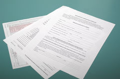Medical Forms royalty free stock photography