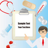 Medical frame Stock Photography