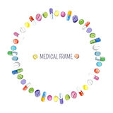 Medical frame. Stock Image