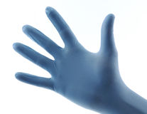 Medical glove Stock Image