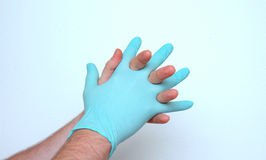 Medical gloves Royalty Free Stock Photography