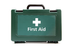 Free Medical Green First Aid Box Royalty Free Stock Photos - 22624628