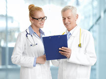 Medical group stock photo