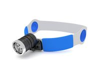 Medical head light on a white background. 3D render. Medical head light on a white background Royalty Free Stock Photos