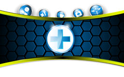 Medical health care abstract background Royalty Free Stock Image