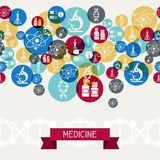 Medical and health care background Royalty Free Stock Photo
