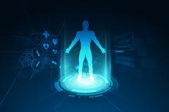 Medical health care human body diagnostics template concept back. Ground clean design vector illustration vector illustration