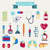 Medical and health care icons set Royalty Free Stock Photo