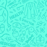 Medical and health care pattern Stock Photo