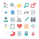Medical and Health Colored Vector Icons. Here is a useful and trendy very awesome medical and health  icons.  Hope you can find a great use for them in your next Stock Photography