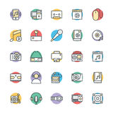 Medical and Health Cool Vector Icons 5 Stock Photos