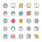 Medical and Health Cool Vector Icons 2 Stock Photo